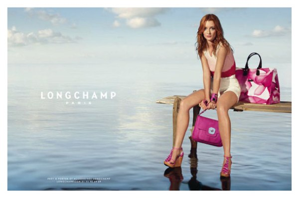 Audrey Marnay for Longchamp Spring 2011 Campaign (Preview)