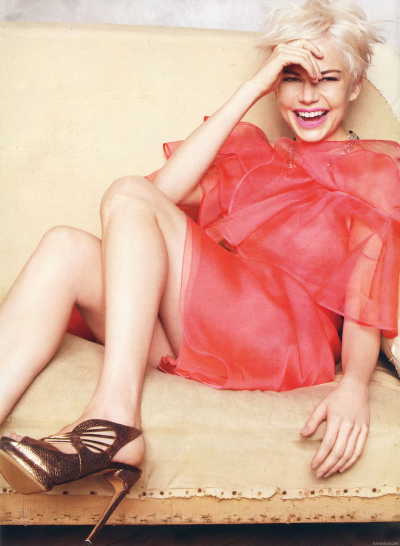 Michelle Williams for Marie Claire US February 2011 by Tesh
