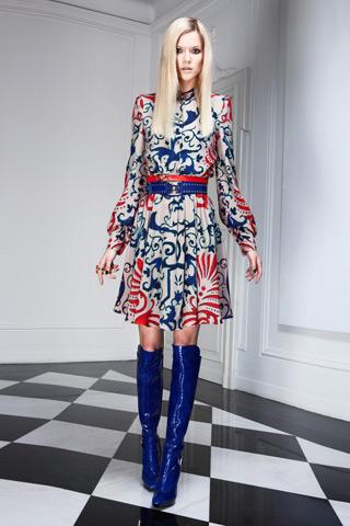 Versace Pre-Fall 2011: Kasia Struss