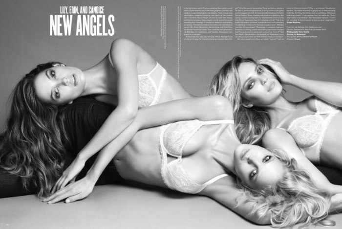 Snap! | Candice Swanepoel, Erin Heatherton & Lily Aldridge for V #69