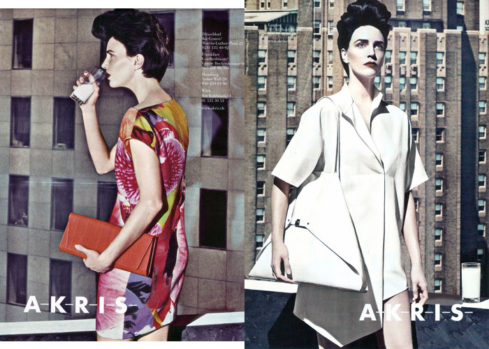 Akris Spring 2011 Campaign Preview | Hannelore Knuts by Steven Klein