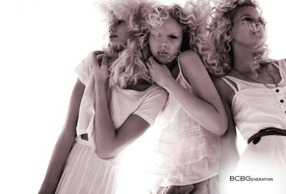 BCBGeneration Spring 2011 Campaign   Anne Sophie Monrad, Angelica & Daria by David Roemer