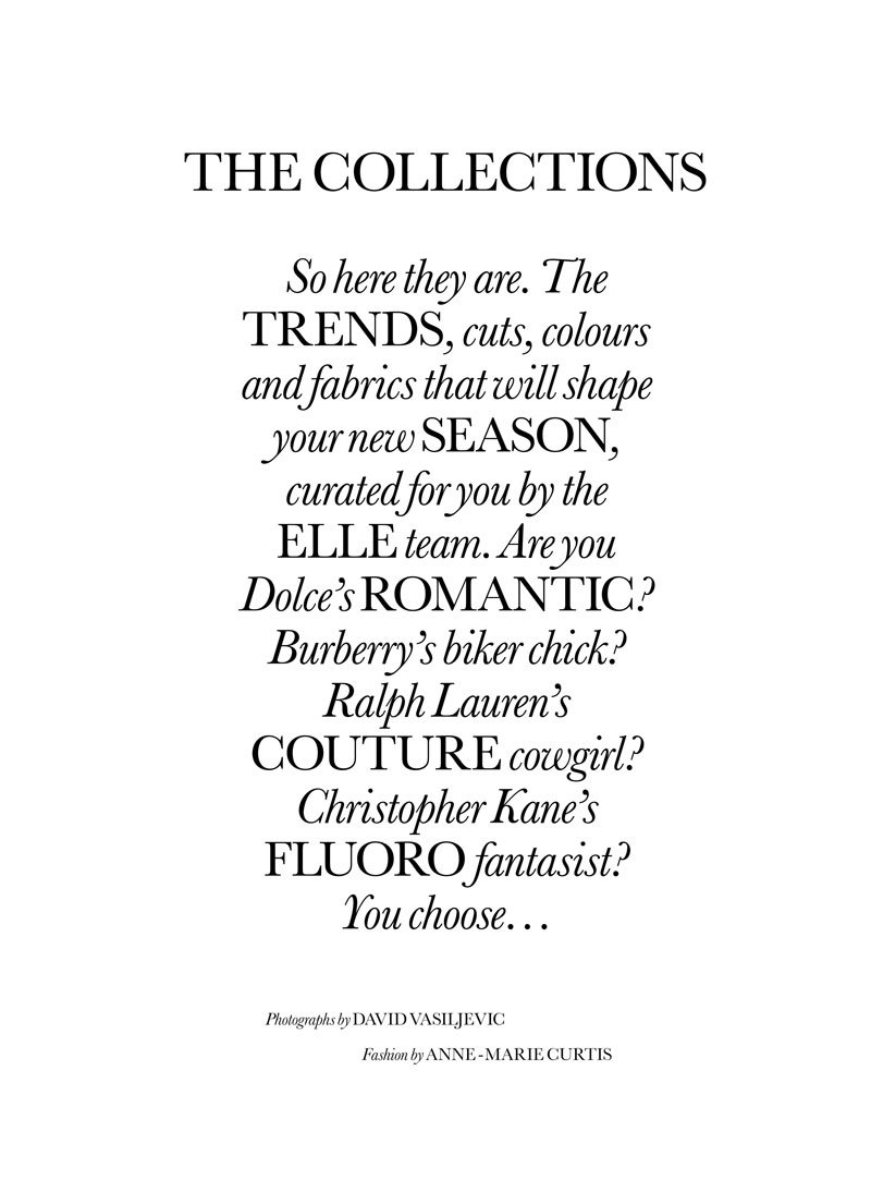 Chanel Iman by David Vasiljevic for Elle UK February 2011