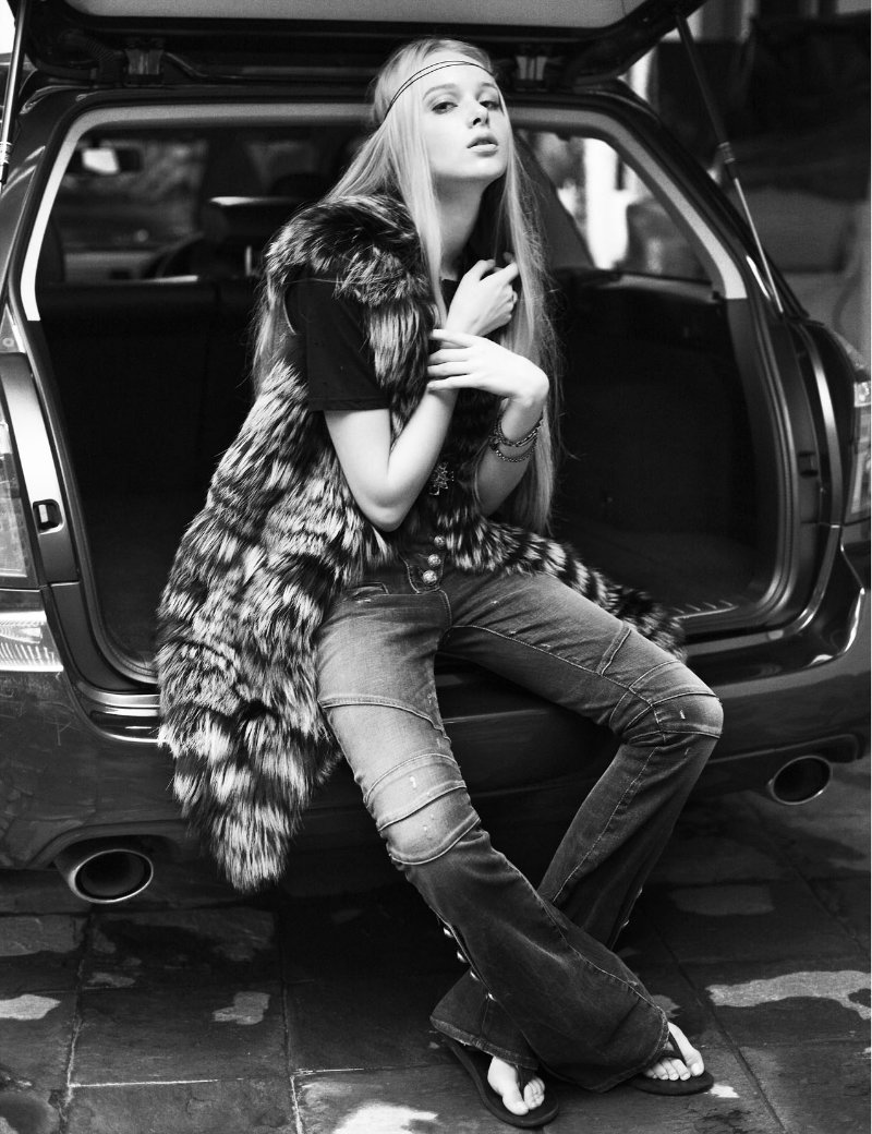 Chantal le Fevre by Wee Khim for Style Singapore January 2011