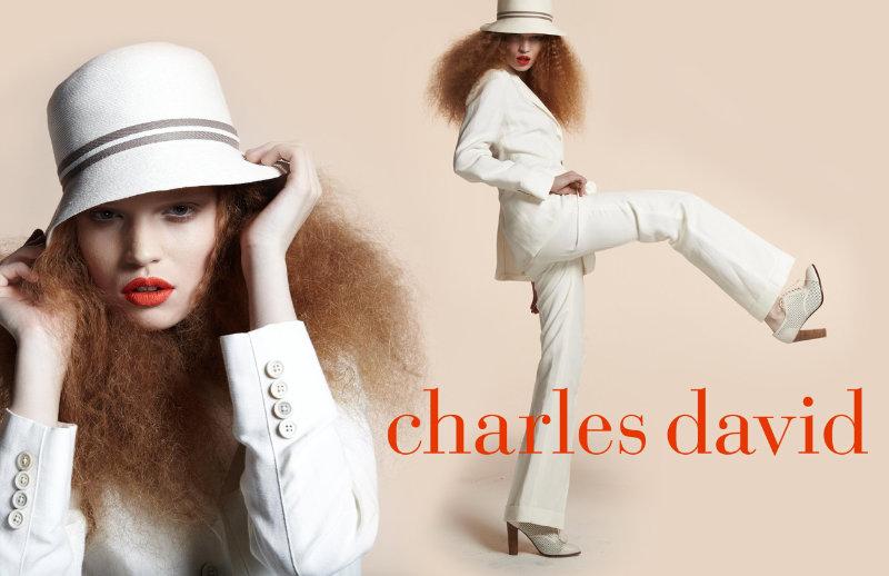 Charles David Spring 2011 Campaign | Luisa Bianchin by Francesco Carrozzini