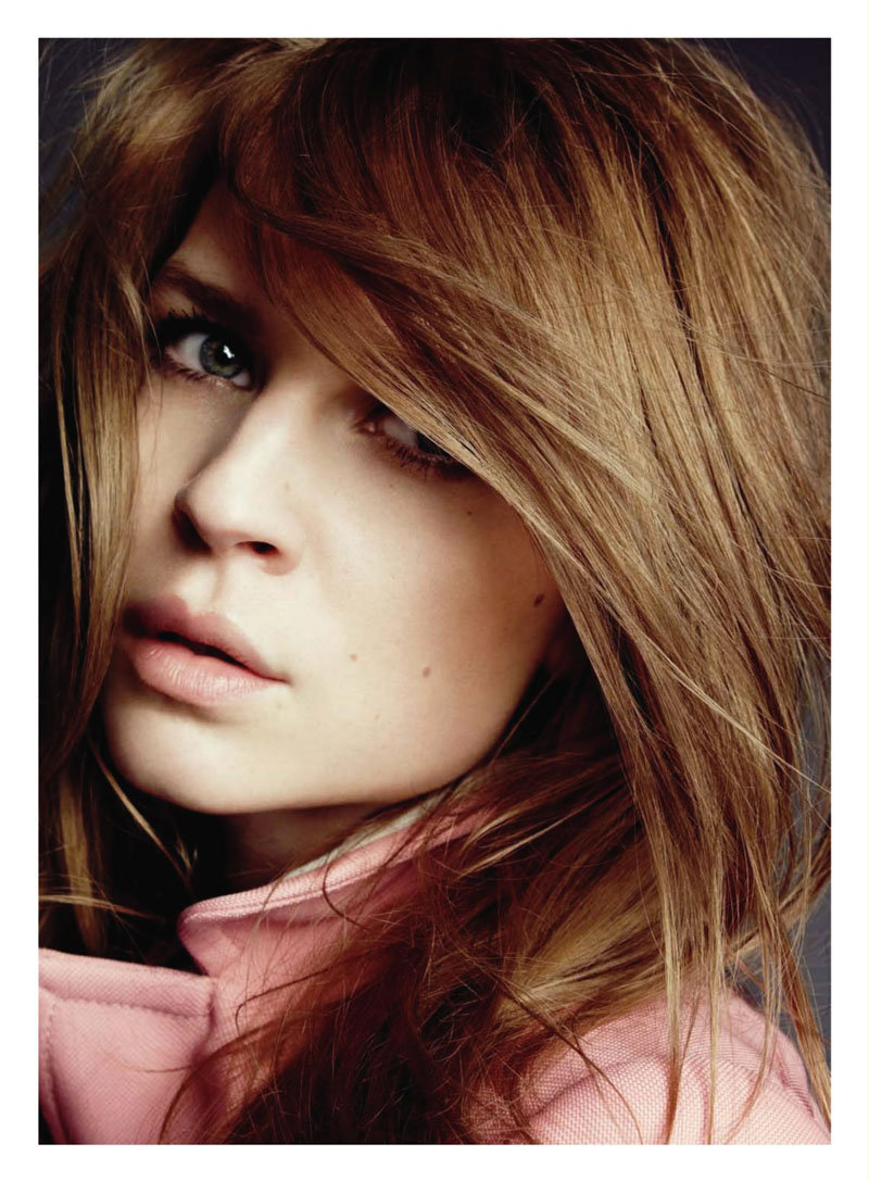 Clémence Poésy for Marie Claire US February 2011 by Tesh