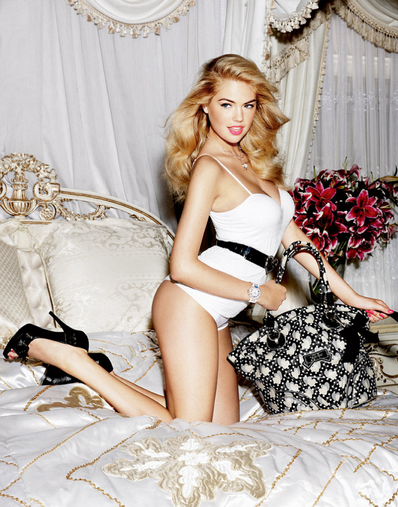 Guess Accessories Spring 2011 Campaign   Kate Upton by Yu Tsai