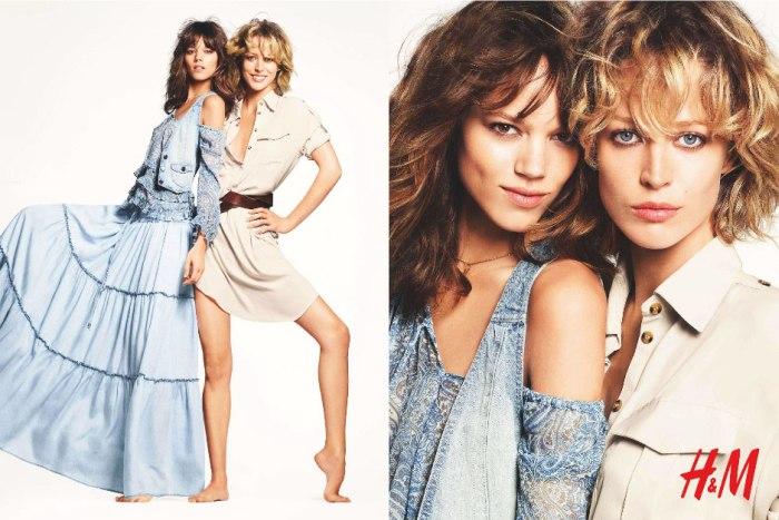 Freja Beha Erichsen & Raquel Zimmermann for H&M Spring 2011 (Preview)