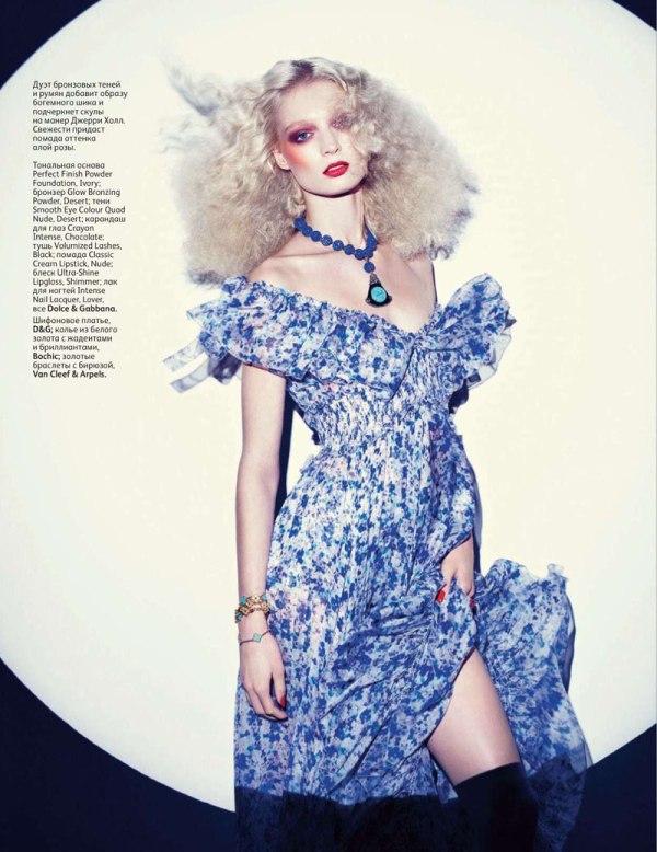 Melissa Tammerijn by Richard Burbridge for Vogue Russia February 2011