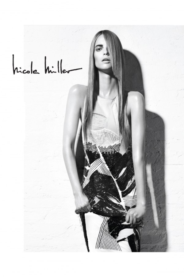 Nicole Miller Spring 2011 Campaign | Sophie Holmes by Robbie Fimmano