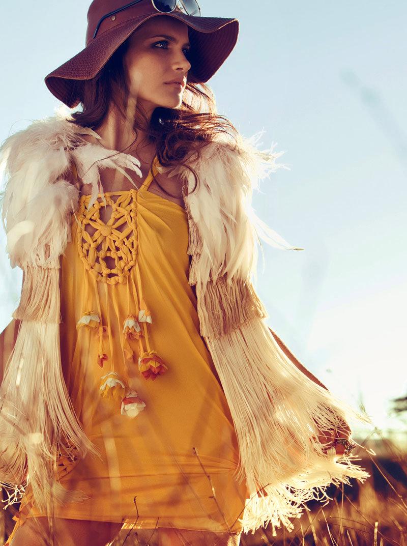 Missy Rayder by Santiago Esteban for Elle Spain February 2011