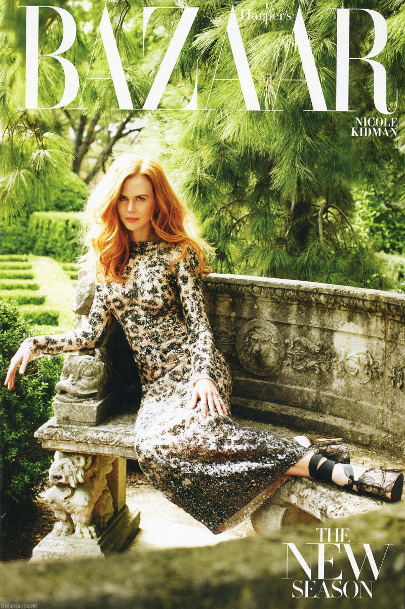 Nicole Kidman for Harper's Bazaar US February 2011 by Alexi Lubomirski