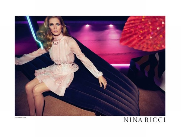 Nina Ricci Spring 2011 Campaign Preview | Malgosia Bela by Inez & Vinoodh