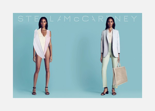 Stella McCartney Spring 2011 Campaign Preview | Joan Smalls & Malgosia Bela by Mert & Marcus