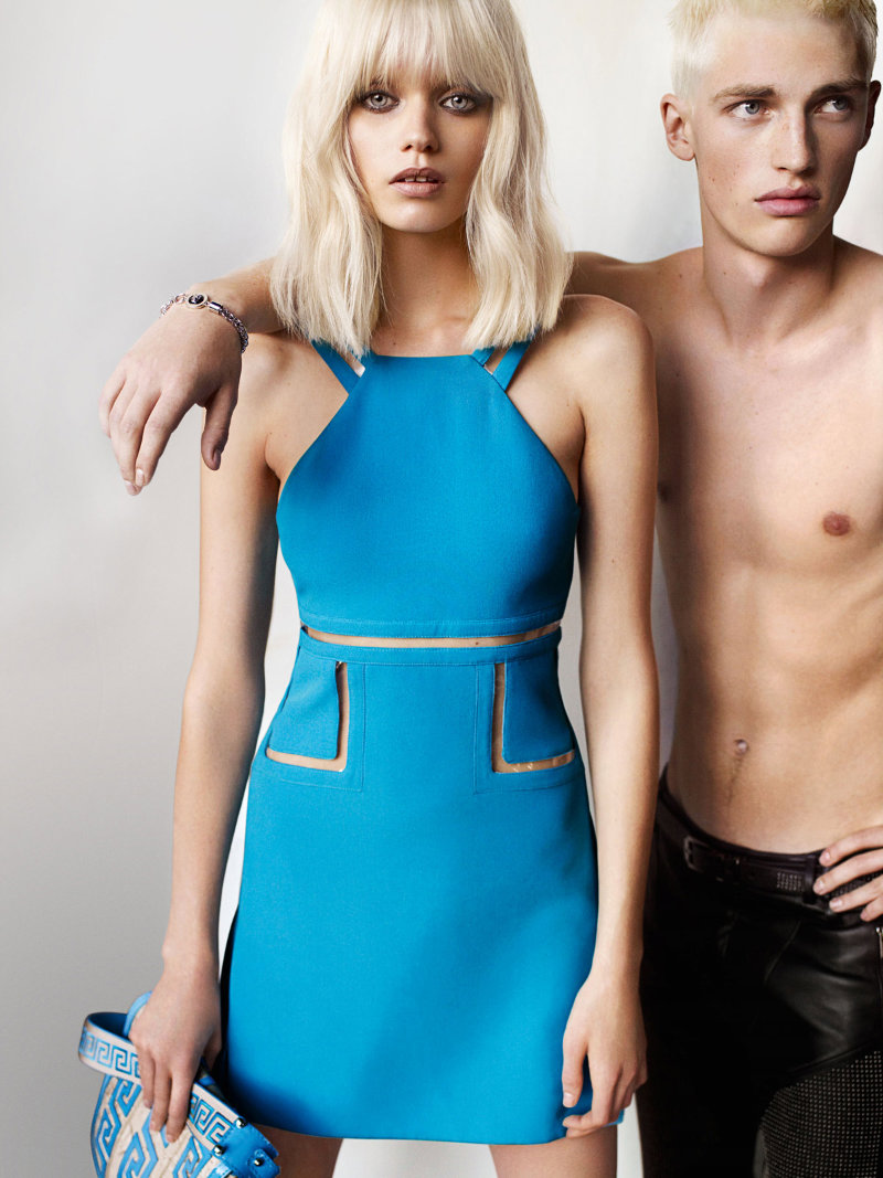 Versace Spring 2011 Campaign | Abbey Lee Kershaw by Mario Testino