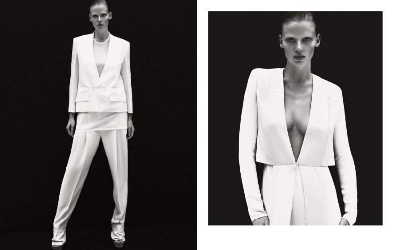 Calvin Klein Spring 2011 Campaign | Lara Stone by Mert & Marcus