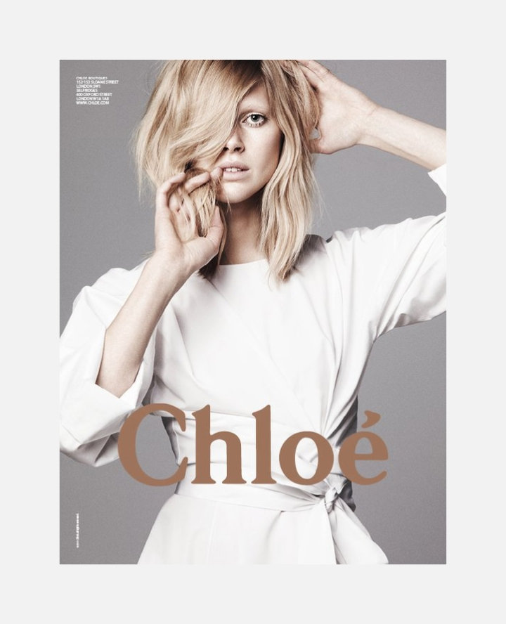 Chloe Spring 2011 Campaign | Iselin Steiro & Malgosia Bela by David Sims