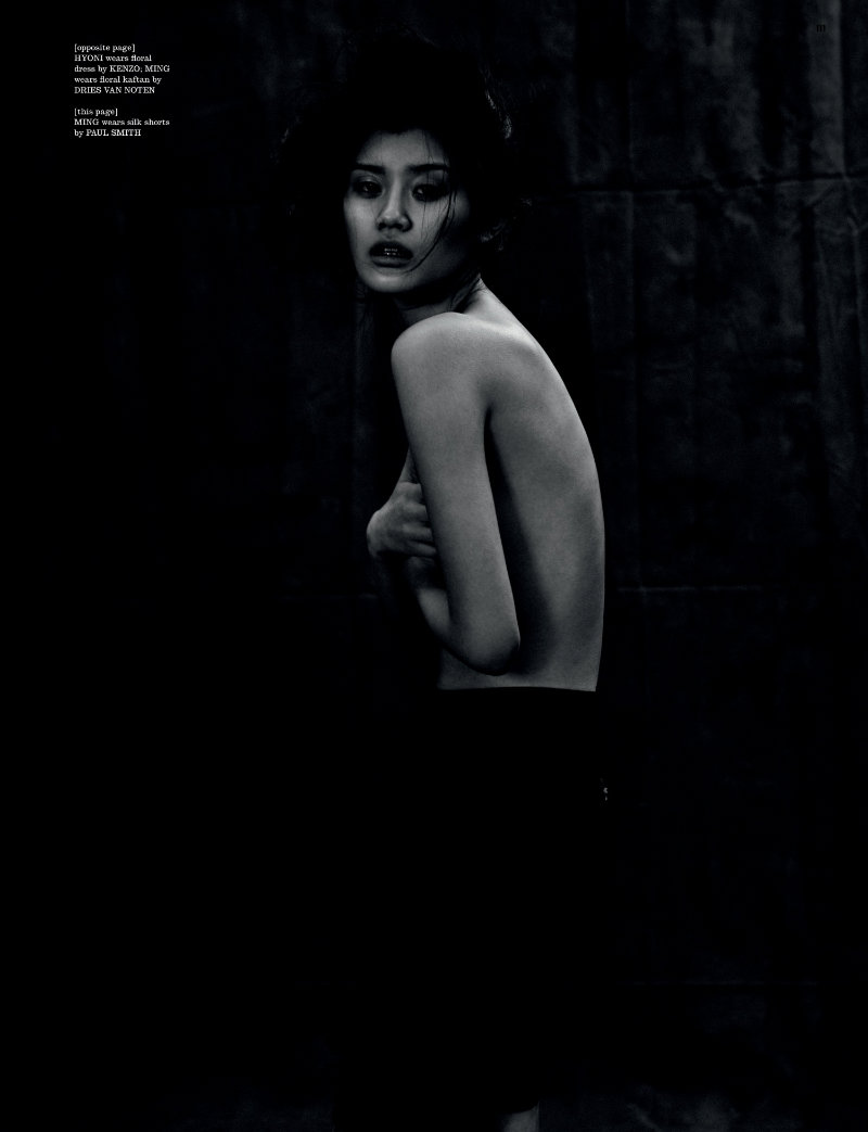 Ming Xi & Hyoni Kang by Will Davidson for Dazed & Confused February 2011