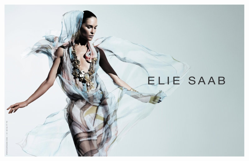 Elie Saab Spring 2011 Campaign | Erin Wasson by Willy Vanderperre