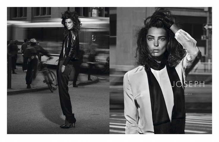 Daria Werbowy for Joseph Spring 2011 Campaign by Peter Lindbergh