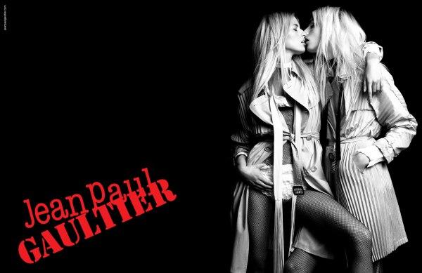 Jean Paul Gaultier Spring 2011 Campaign Preview | Karolina & Andrej by Inez & Vinoodh