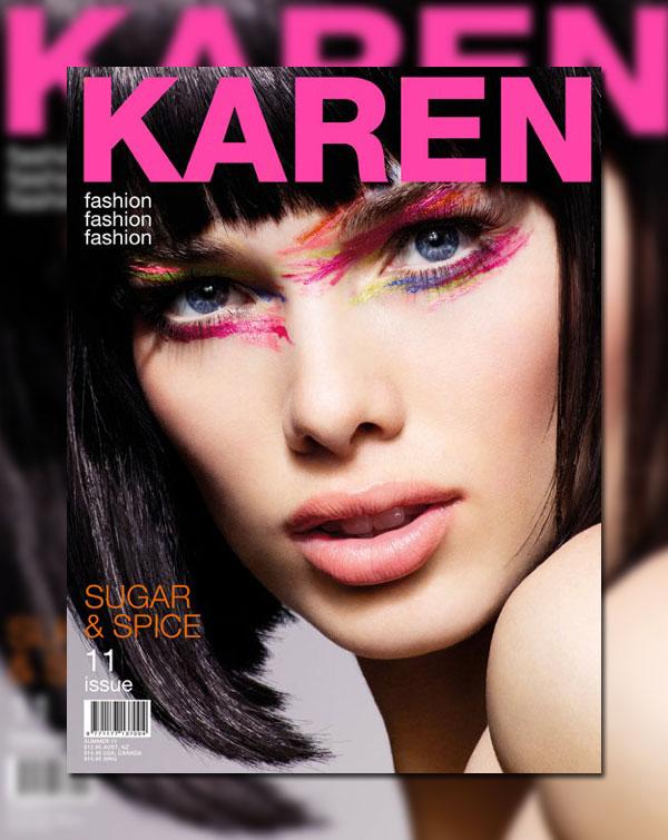 Karen #11 Cover | Simone Kerr by Charles Howells