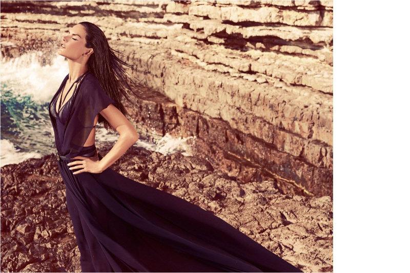 Alessandra Ambrosio by Koray Birand for Koton Spring 2011 Campaign