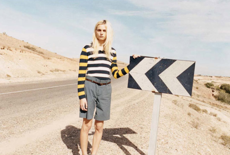 Marc by Marc Jacobs Spring 2011 Campaign | Ginta Lapina & Andrej Pejic by Juergen Teller