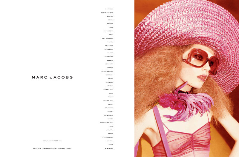 Marc Jacobs Spring 2011 Campaign by Juergen Teller