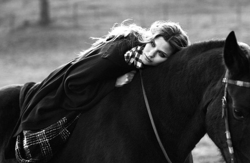 Michelle McCallum by Zoltan Tombor for Grazia Italy
