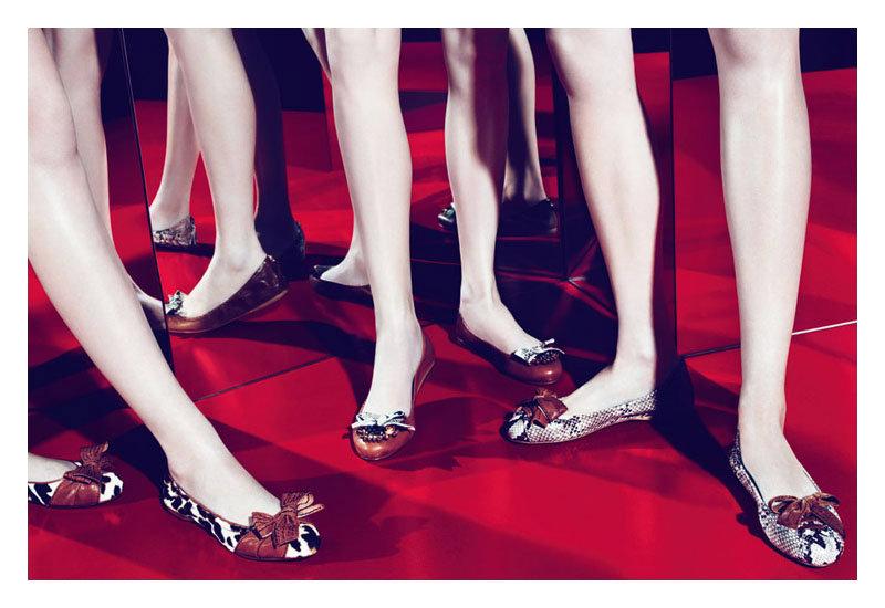 Miu Miu Spring 2011 Campaign | Sasha, Querelle & Kasia by Mert & Marcus
