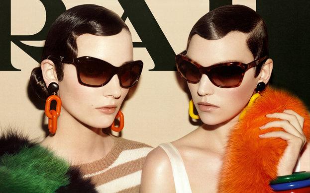 Prada Spring 2011 Campaign | Mariacarla Boscono, Arizona Muse & Kinga Rajzak by Steven Meisel