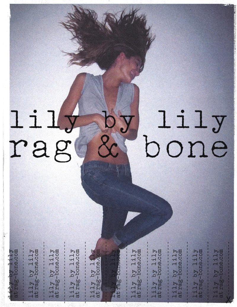 Abbey Lee Kershaw, Sasha Pivovarova, Lily & Edita V for Rag & Bone Spring 2011 Campaign