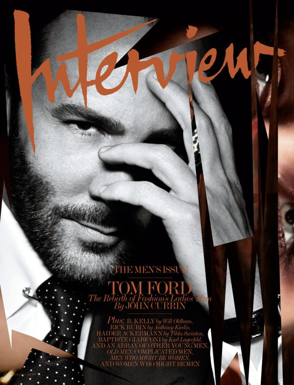 Interview February 2011 Cover | Tom Ford by Craig McDean