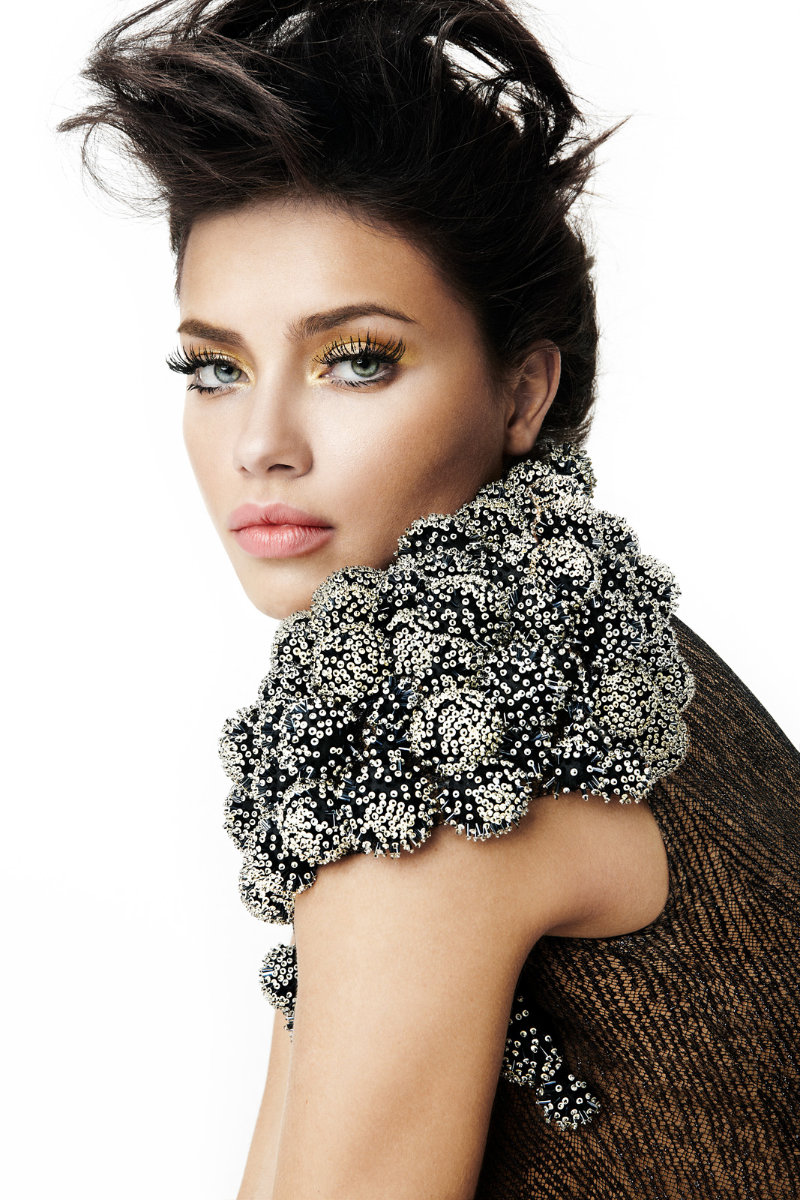 Adriana Lima for Vogue Brazil February 2011 by Fabio Bartelt