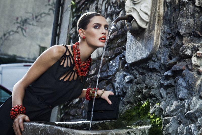 Bianca Balti by Sinisha Nisevic for Vogue Nippon February 2011