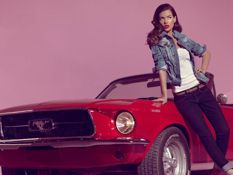 Blanco Jeans Spring 2011 Campaign | Sheila Marquez by Hunter & Gatti