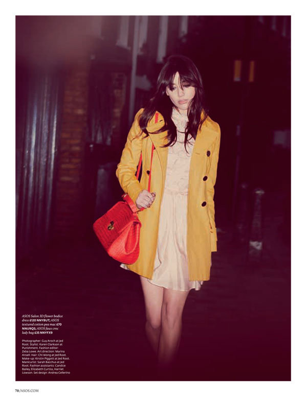 Daisy Lowe for ASOS February 2011 by Guy Aroch