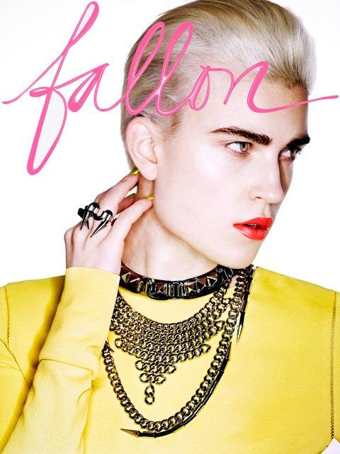 Fallon Fall 2011 Campaign   Jana Knauerova by Sharif Hamza