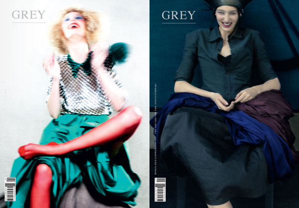 Grey Magazine S/S 2011 Covers