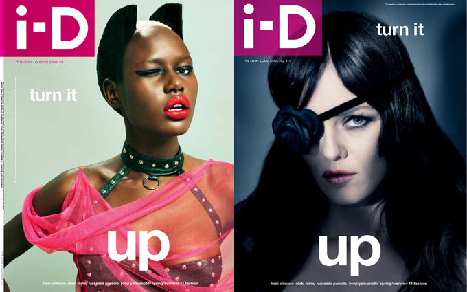 i-D Pre-Spring 2011 Covers