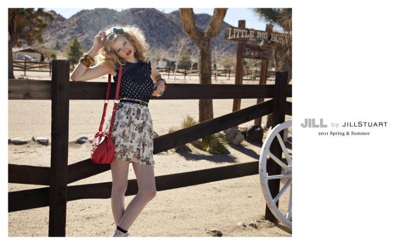 Jill by Jill Stuart Spring 2011 Campaign | Hailey Clauson by Skye Parrott