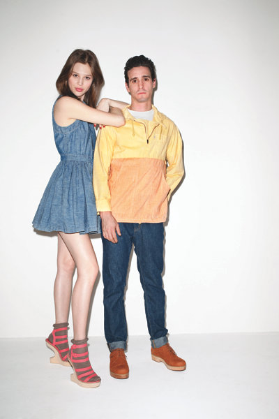 Opening Ceremony x Levi's Spring 2011: Anais Pouliot by Terry Richardson