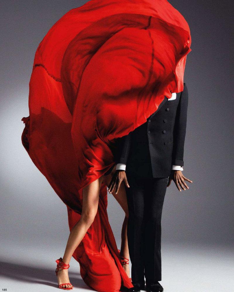 Raquel Zimmermann by Inez & Vinoodh for Vogue Nippon March 2011
