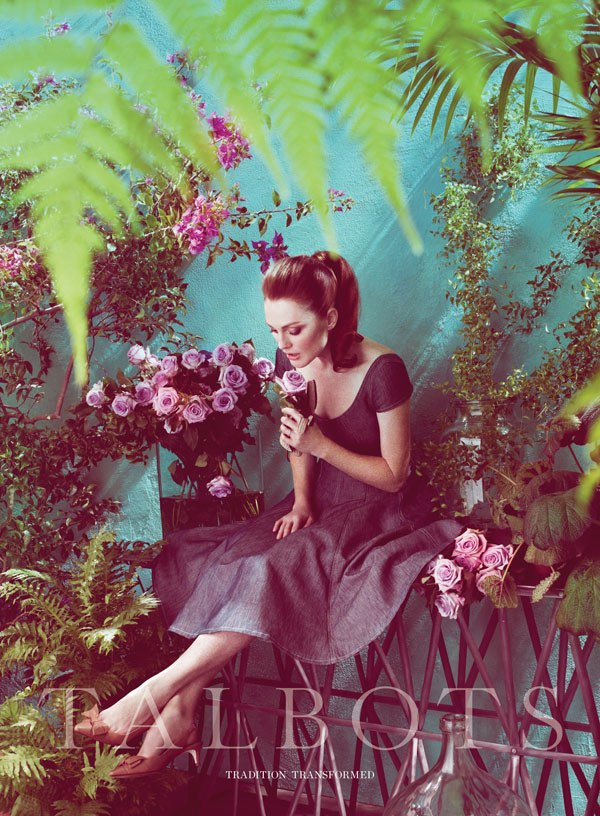 Julianne Moore for Talbots Spring 2011 Campaign by Mert & Marcus (Preview)