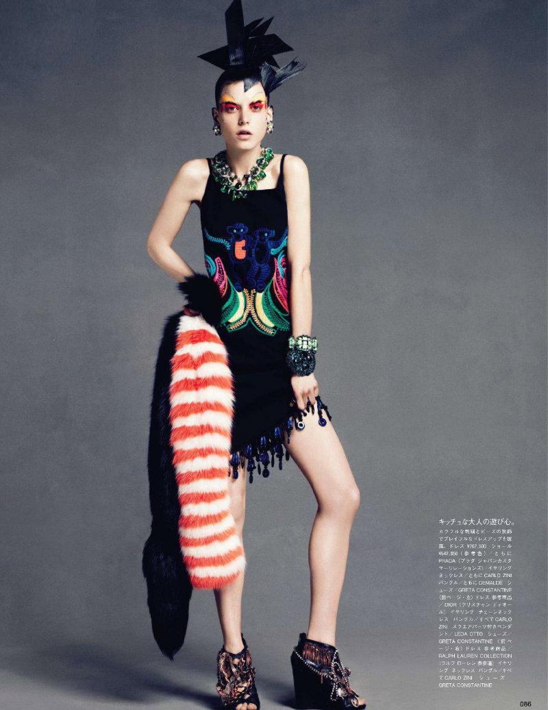 Tati Cotliar by Paola Kudacki for Vogue Nippon March 2011