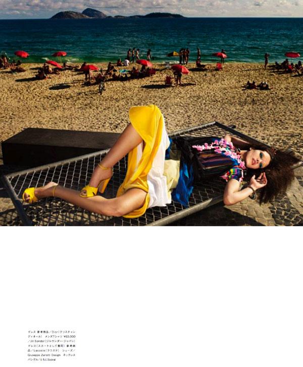 Marcelia Freesz by Matthias Vriens-McGrath for Numéro Tokyo March 2011