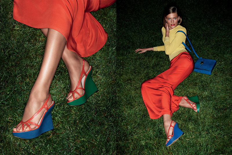 Bally Spring 2011 Campaign | Constance Jablonski by Daniel Jackson