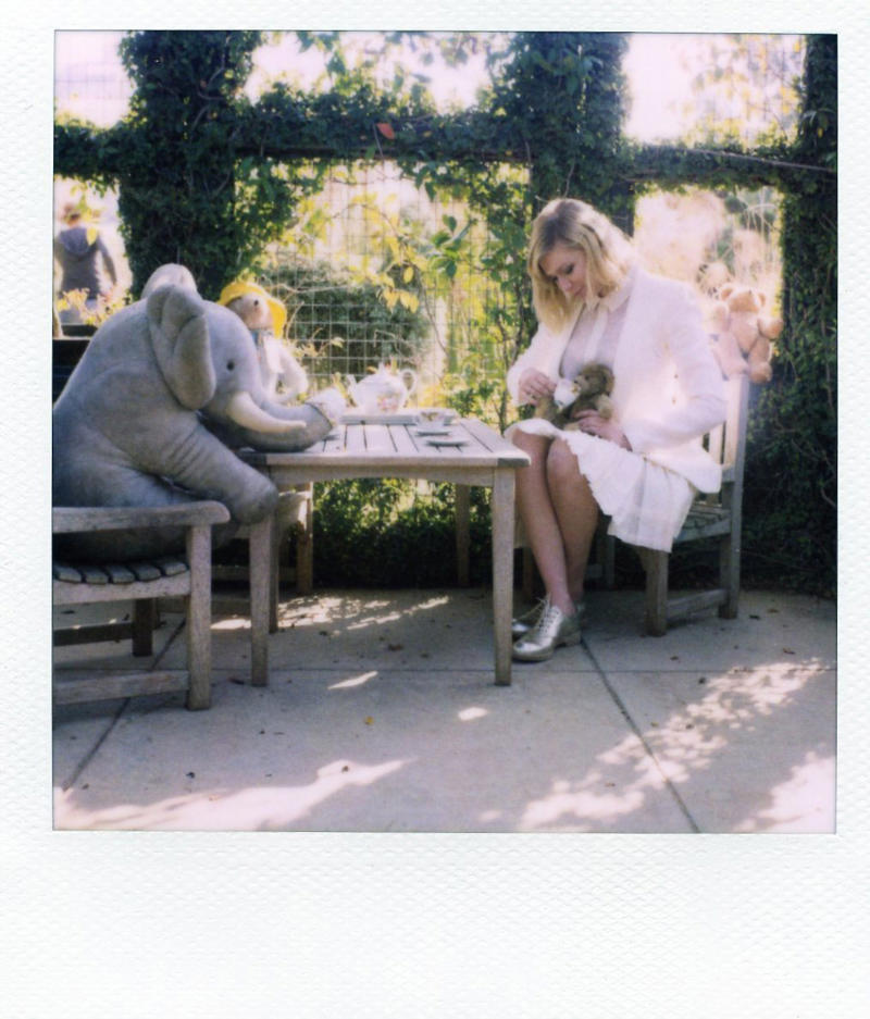 Kirsten Dunst for Band of Outsiders Spring 2011