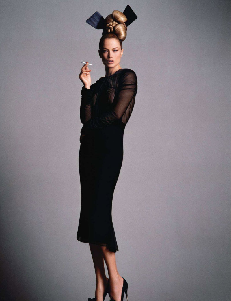 Carolyn Murphy by Daniele & Iango for Vogue Nippon March 2011
